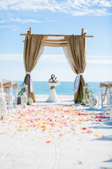 Perfect Beach Wedding Location